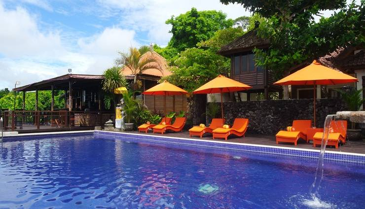 Puri Bendesa Villas Bali - Main Pool