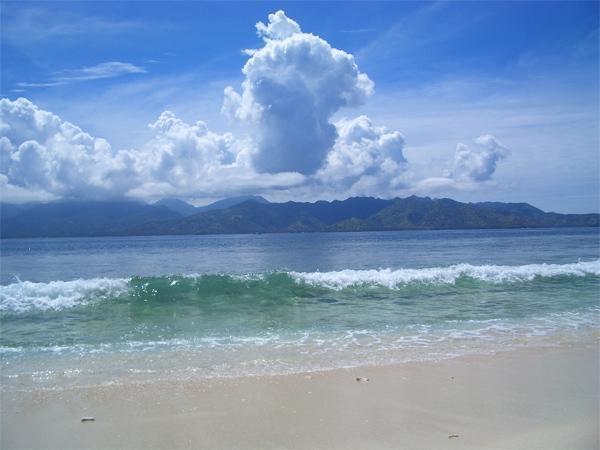 Birumeno Beach Bungalow Lombok - Pemandangan