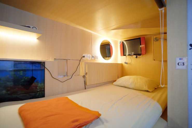 INAP at Capsule Hostel Bandung -