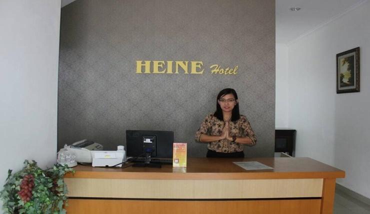 Heine Hotel & Resto Manado - Reception