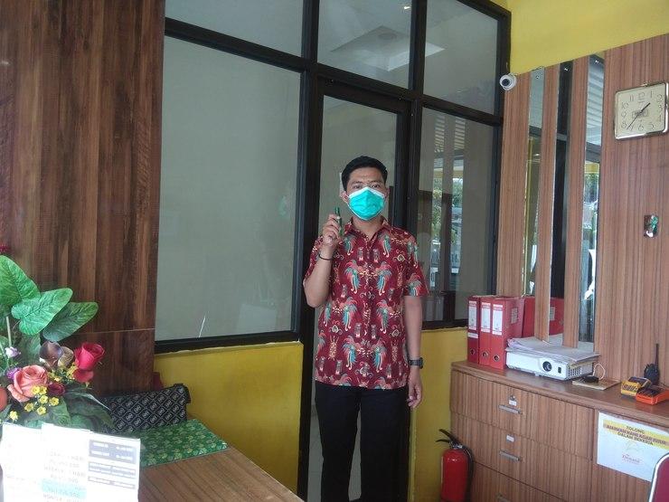 Hotel Domino Palembang - pencegahan corona