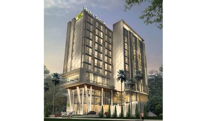 Hotel Santika Radial Palembang - Eksterior