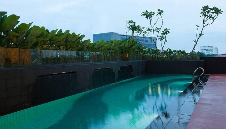 Hotel Santika Radial Palembang - Kolam Renang