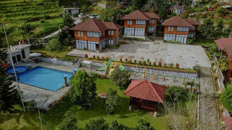 Villa Top View Bogor - Facade