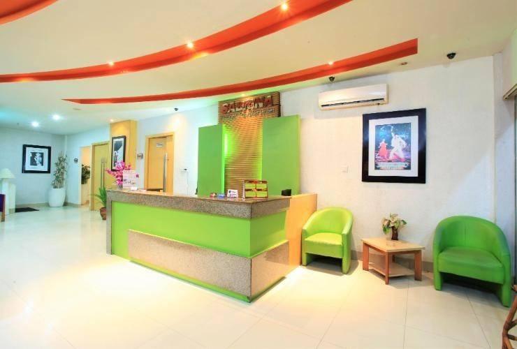 Sabrina Paninsula Hotel Pekanbaru - lobby