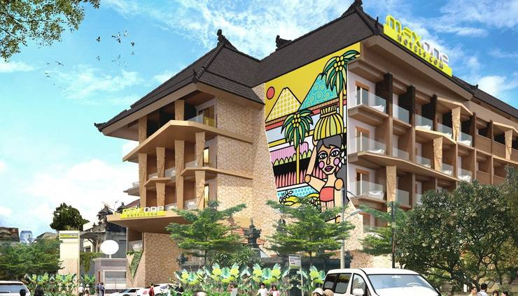 MaxOneSuites at Kuta Tuban - Tampilan Luar Hotel