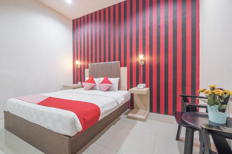 OYO 466 Gahara Hotel Makassar - Bedroom