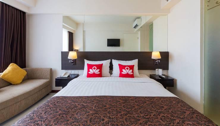 ZenRooms Kuta Jerman Beach Bali - Tampak luar tempak tidur double