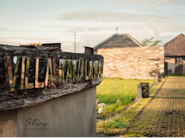 Villa Kayu Lama Bali - Tampilan Luar