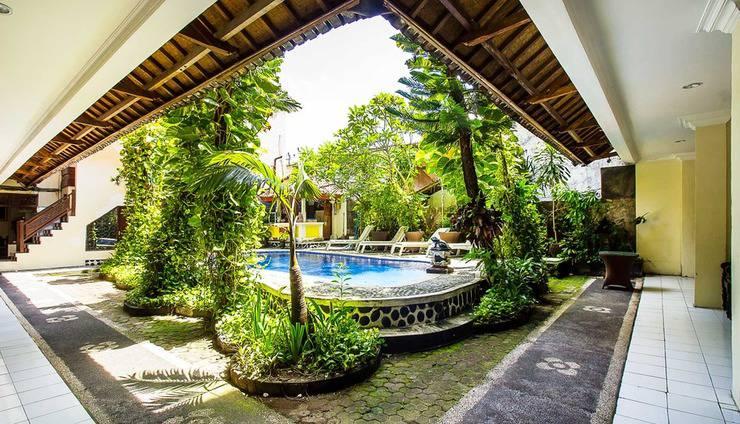 SKY Hotel Sanjaya Bali - kolam renang