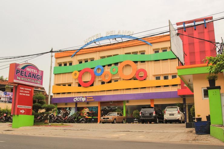 Hotel Pelangi Lampung - tampak luar