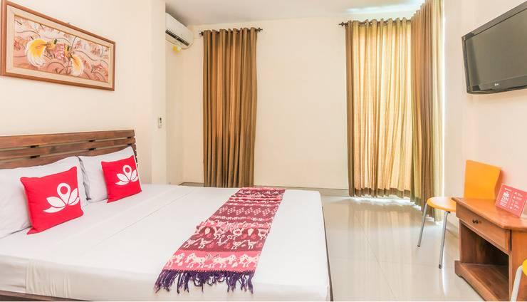 ZenRooms Sanur Bypass Ngurah Rai 2 - Tempat tidur double