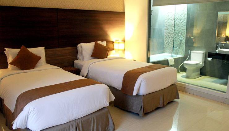 Crystal Lotus Hotel Yogyakarta - Kamar Tidur Deluxe Twin