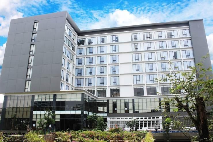 Veranda Hotel Pakubuwono - Building design