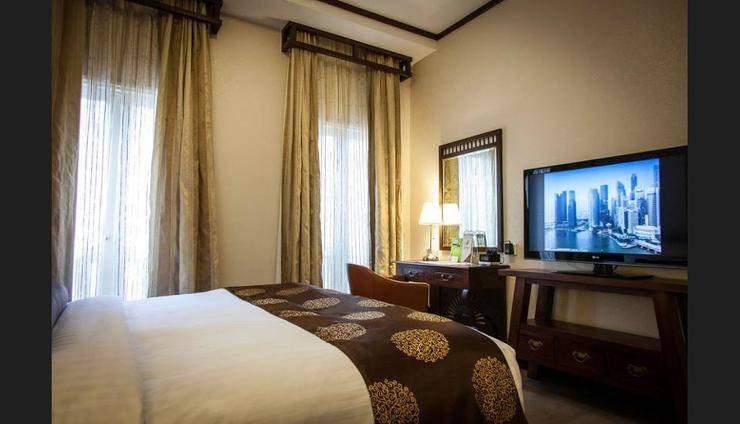 Village Hotel Albert Court - Guestroom