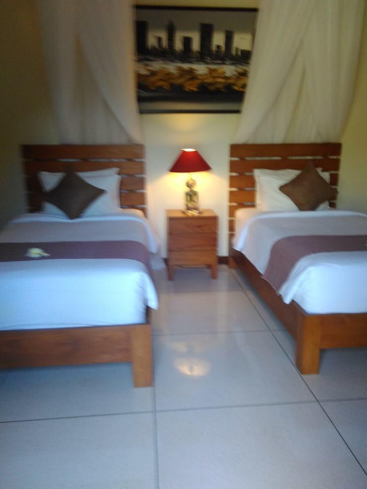 Luxury Family Three Bedroom Villa Bali - Guestroom View