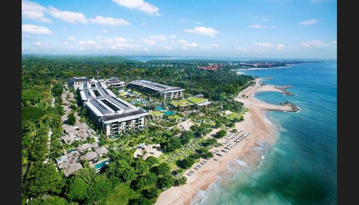 Suites & Villas at Sofitel Bali Nusa Dua - Aerial View