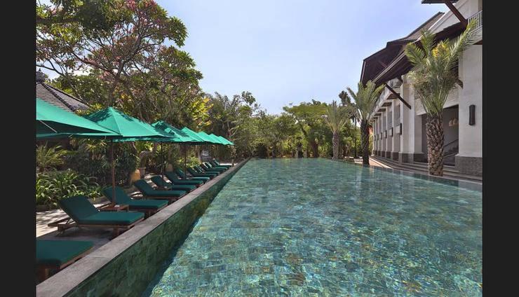 Puri Santrian Bali - Pool