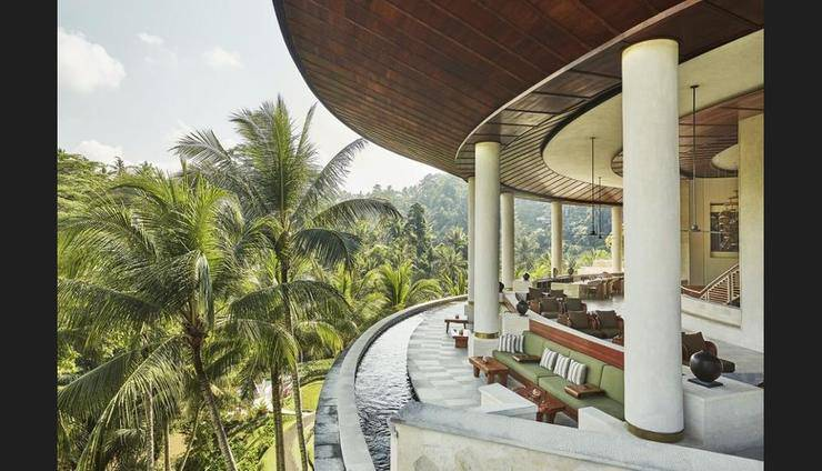 Four Seasons Sayan - Lobby Lounge