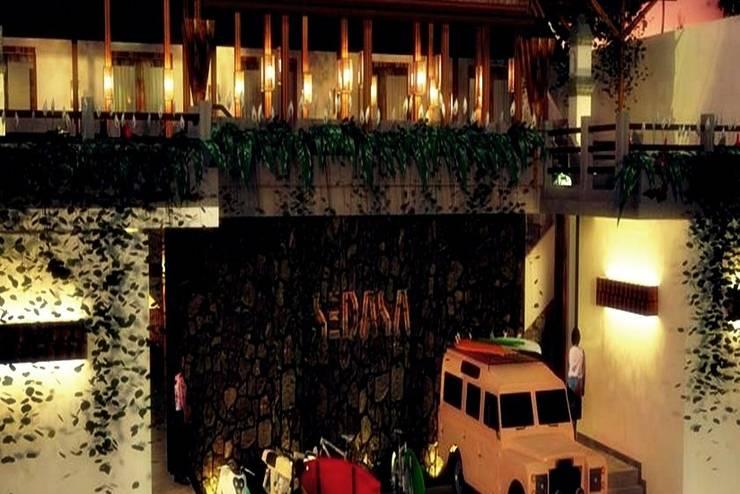Sedasa Lodge Canggu - Tampilan Luar Hotel
