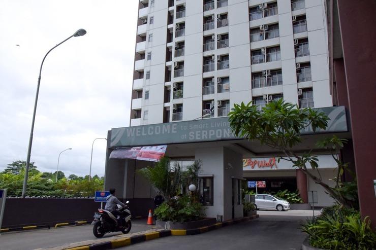 RedDoorz Apartment @ Serpong Green View Tangerang Selatan - Eksterior