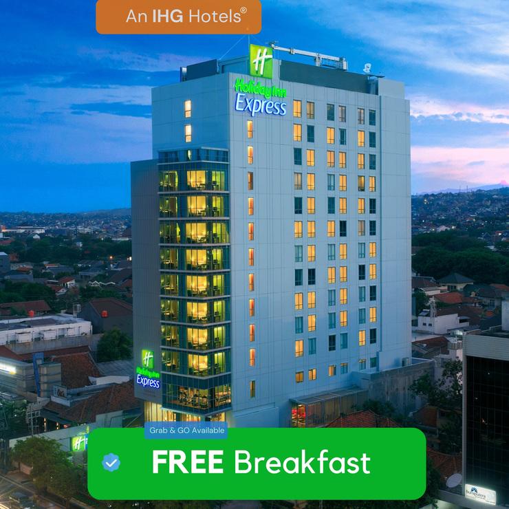 Holiday Inn Express Semarang Simpang Lima, An IHG hotel Semarang - bangunan