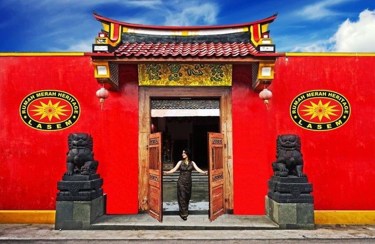 Tiongkok Kecil Heritage Lasem Rembang - gerbang