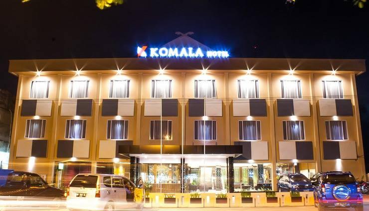 Komala Hotel Dumai - Eksterior
