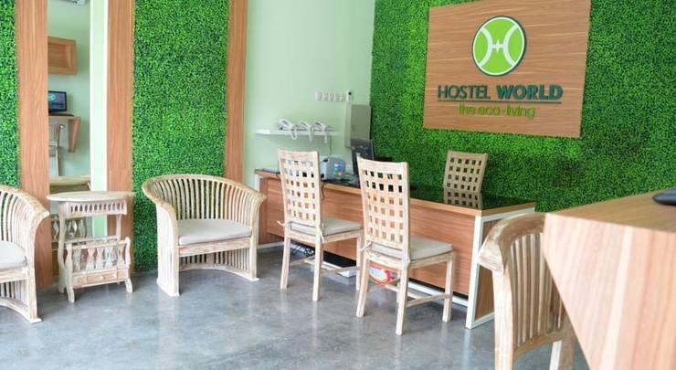 Hostel World The Eco Living Bali - (11/Dec/2013)