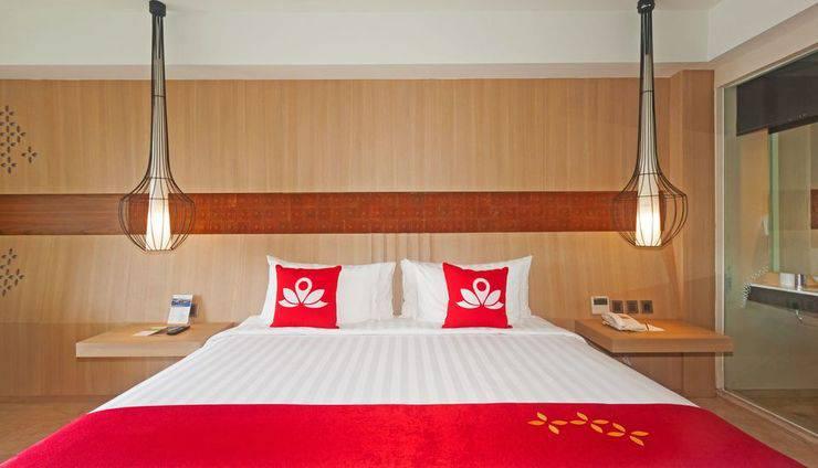 ZEN Premium Jimbaran Ungasan Bali - Tampak tempat tidur double