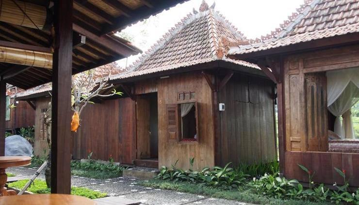 Joglo Taman Sari Bali - bangunan