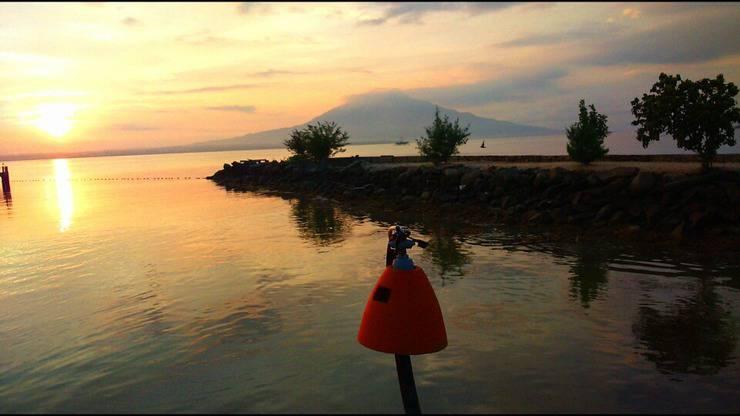 Grand Elty Krakatoa Bandar Lampung - indahnya matahari terbit