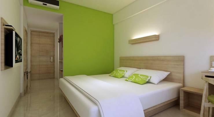 Grandmas Tuban Hotel Bali - Kamar tidur