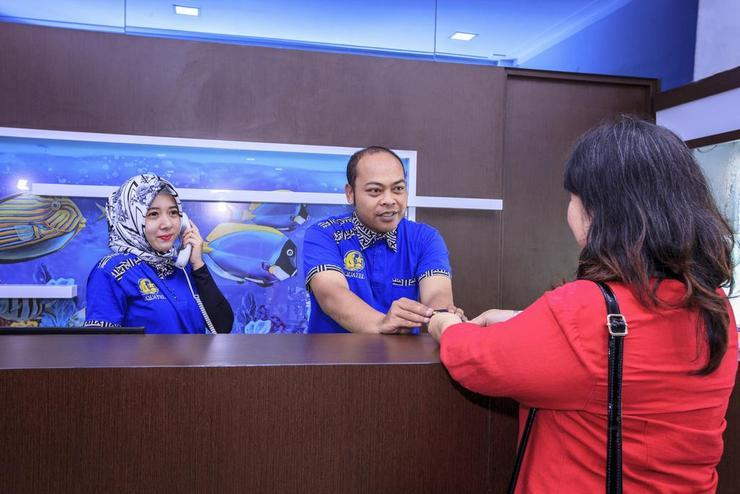 Aquatel Hotel Pekanbaru - Reception
