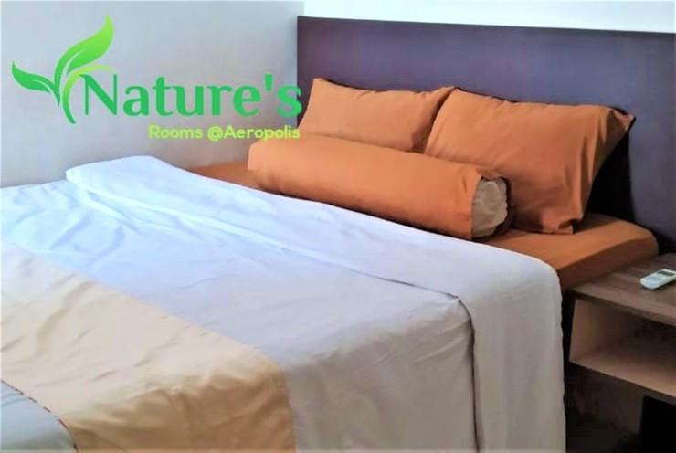 Nature's Room @ Aeropolis Tangerang - Bedroom