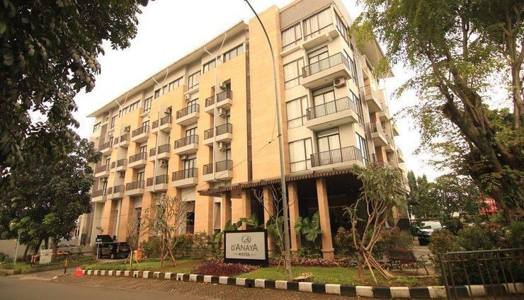 Hotel D'Anaya Bogor - depan Of D'Anaya Hotel