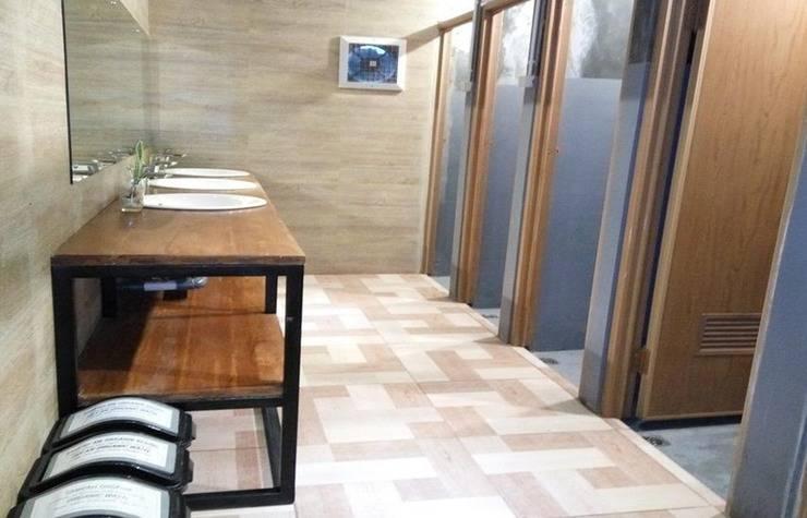Tani Jiwo Hostel Dieng - Bathroom