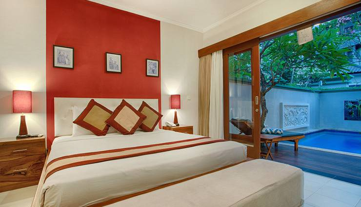 Villa Tukad Alit Bali - One Bedroom Villa pool access