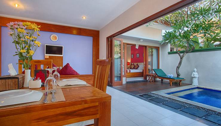Villa Tukad Alit Bali - one bedroom with private pool