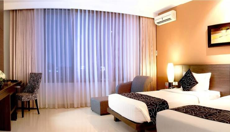 Grand Pacific Hotel Bandung - Suite Twin