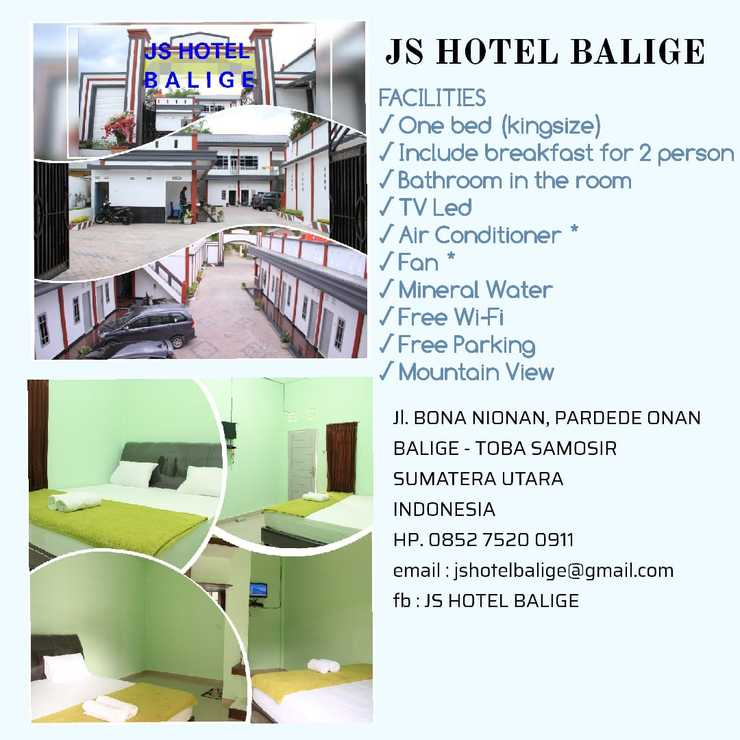 JS Hotel Balige Danau Toba - facility