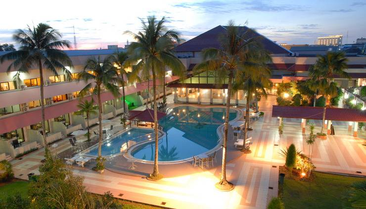 Hotel Kapuas Palace Pontianak Pontianak - Tampilan