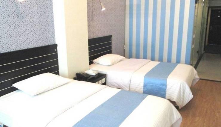 Hotel Citi International SunYatSen Medan - Kamar Deluxe dengan 2 tempat tidur