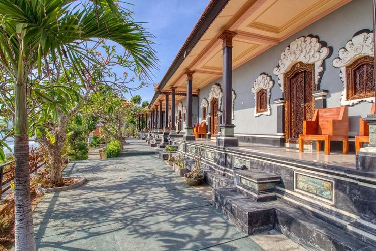 Manta Cottage With Sea View Bali - Exterior