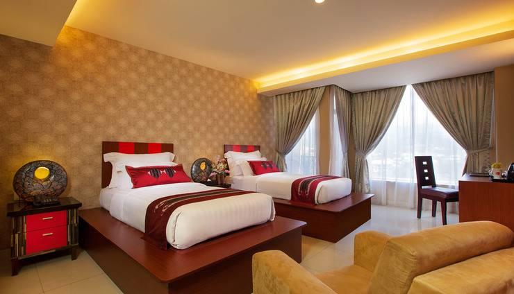 Lion Hotel & Plaza Manado - Deluxe Pemandangan kota (Revisi)