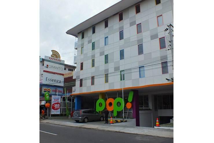 POP! Hotel Malioboro Jogja - Tampilan Luar Hotel