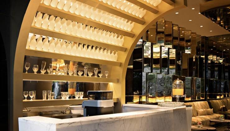 AONE Hotel Jakarta - Lounge lobi