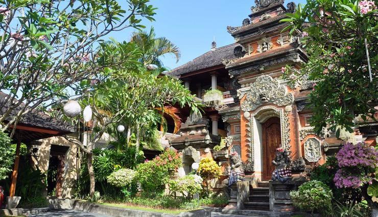 Puri Dewa Bharata Hotel & Villas Bali - Area parkir