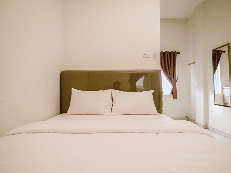 The Pipe House Palembang - standard double bedroom