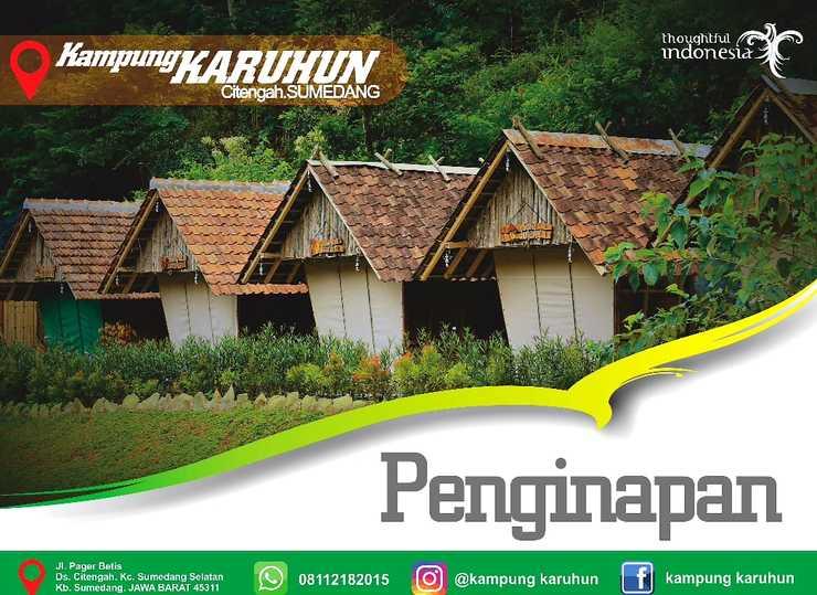 Kampung Karuhun - Eco Green Park Sumedang - Banner